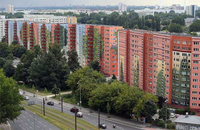 بزرگترین نقاشی دیواری ساختمان