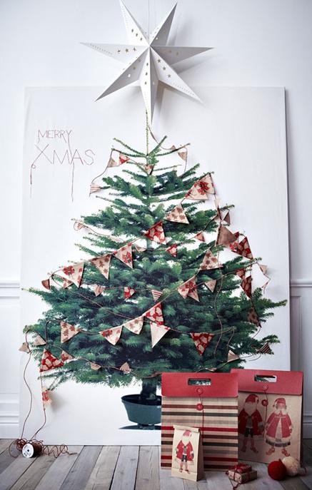 ایده های خلاقانه طراحی درخت کریسمس