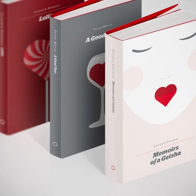 طراحیهای الهامبخش جلد کتابهای عاشقانه