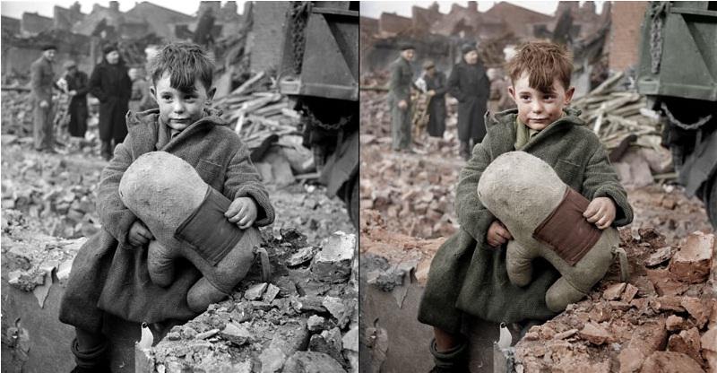 عکس های تاریخی سیاه و سفید که رنگی شده اند