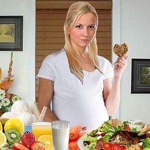 واقعیت های غذایی زمان حاملگی