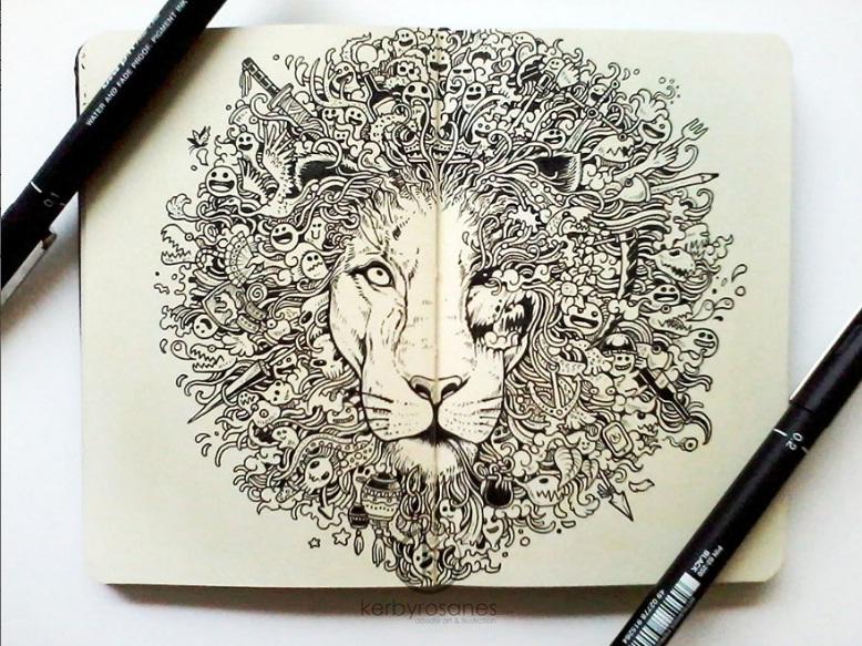 طراحی های doodle تحسین برانگیز