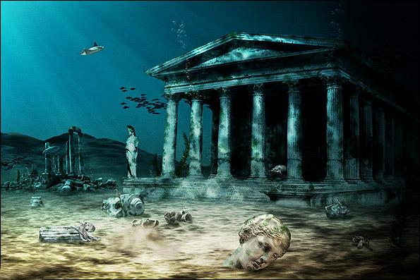 سونامی آتلانتیس را غرق کرد؟