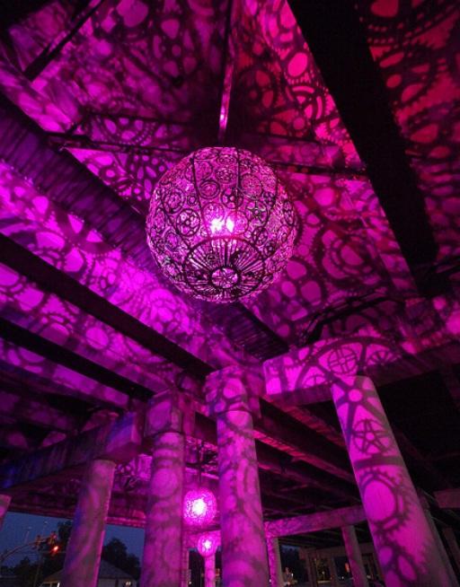 ایده های خلاقانه، ساخت لامپ آویز و لوستر