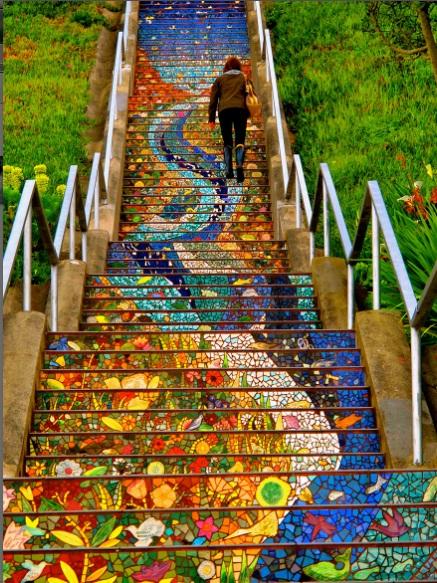 ۱۷مورد از زیبا ترین پلکانها در سراسر جهان