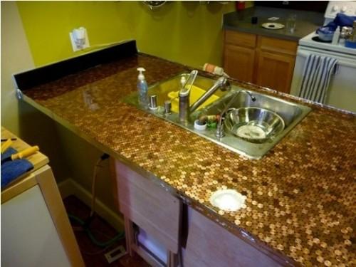 میز آشپزخانه سکه ای!