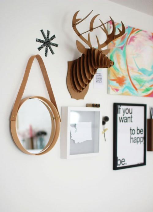 ساخت آینه مدرن و ساده