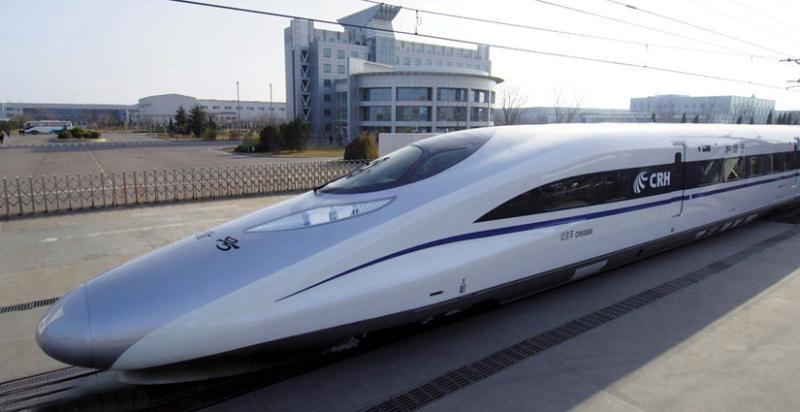 اتصال چین به آمریکا با راه آهن