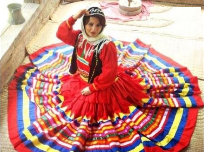 تاریخ لباس زنانه در ایران