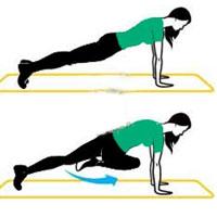 تمریناتی برای لاغر کردن ران و باسن (تصویری)