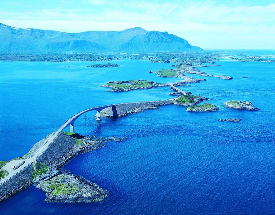 جاده های شگفت انگیز در سرتاسر جهان