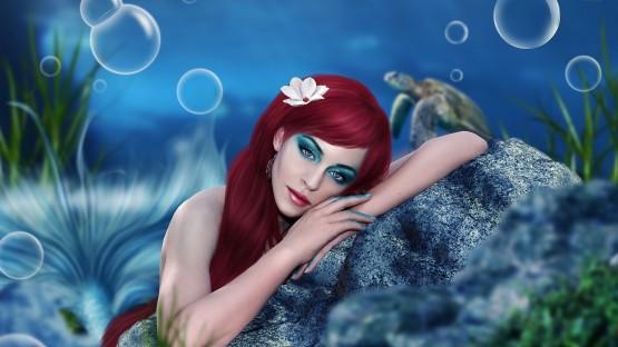 ۳۲۳۰۳-beautiful-mermaid-1920×1200-fantasy-wallpaper