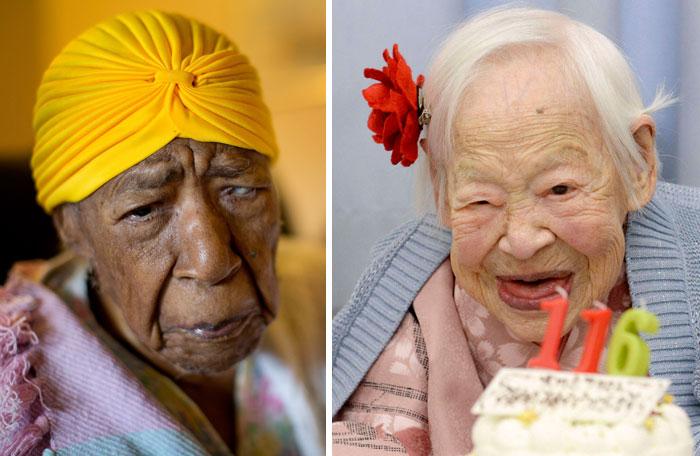 مسن ترین افراد زنده حال حاضر جهان، بازماندگان قرن ۱۹
