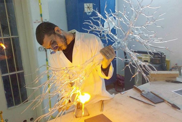 طبیعت در شیشه: خلق مجسمه های شیشه ای