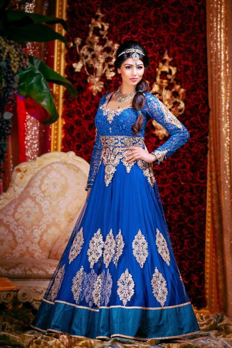 شاهزاده خانم های دیزنی در لباس عروسی هندی