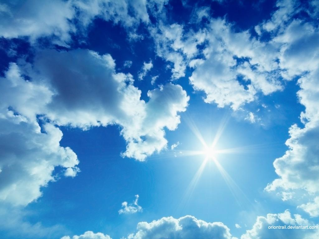 چرا آسمان آبیست؟