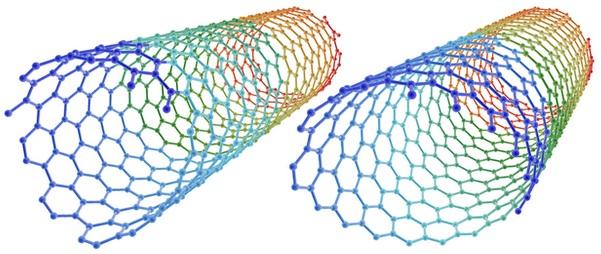 تولید نانولولههای جدید برای تصویربرداری و دارورسانی