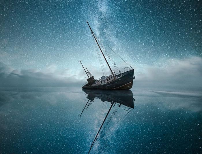 ۱۵+ عکس خیره کننده از آسمان پرستاره