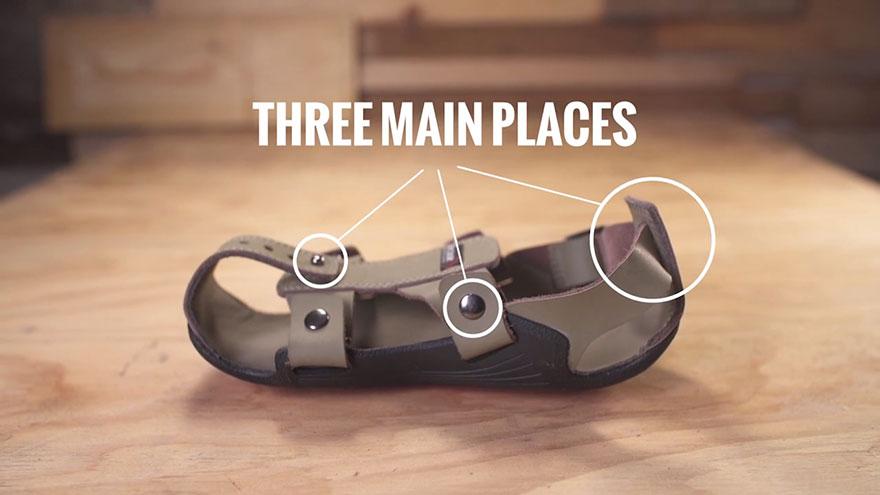کفشی که همراه پای شما رشد میکند