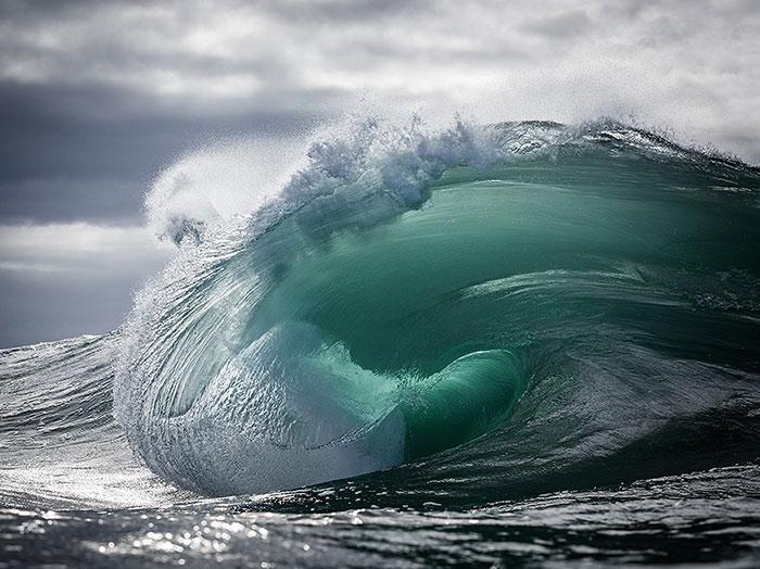 تصاویر با شکوه از قدرت امواج اقیانوس