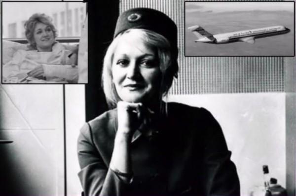 Vesna Vulović،سقوط از آسمان و زنده ماندن