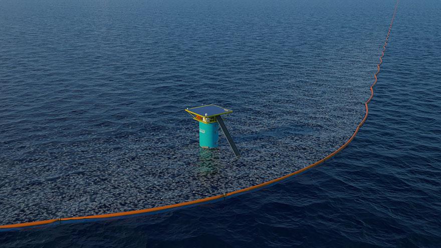 طرحی نو در پاکسازی اقیانوس ها از پسماندهای پلاستیکی