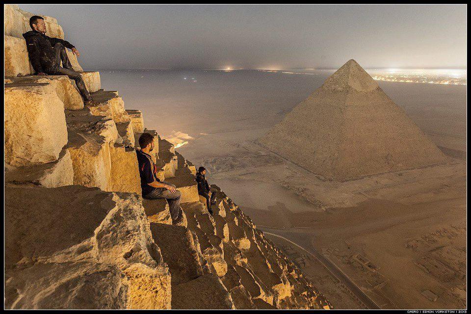 عکس هایی متفاوت از اهرام مصر