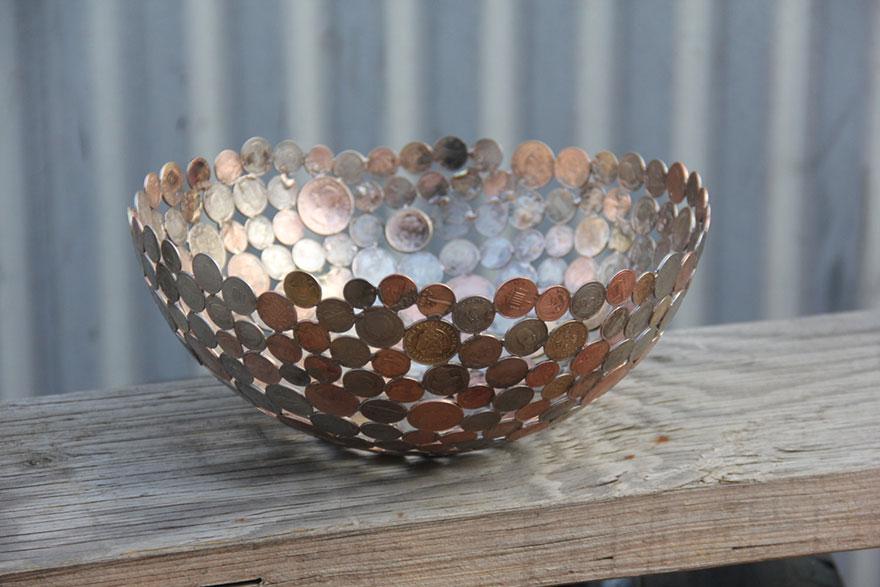 recycled-metal-sculptures-key-coin-michael-moerkey-4