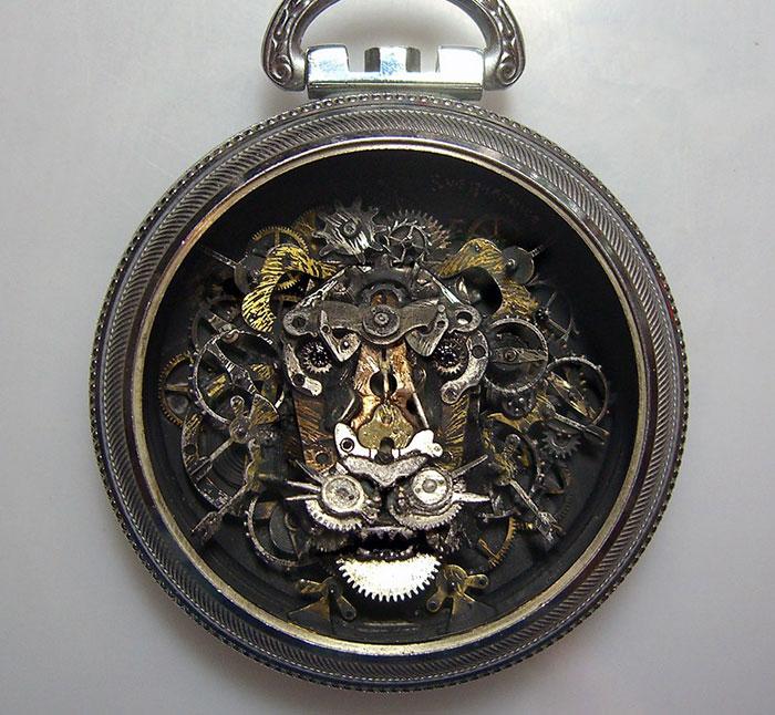 recycled-watch-parts-sculptures-vintage-antique-susan-beatrice-1