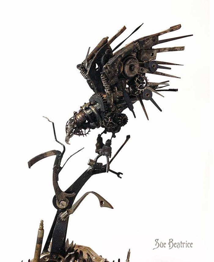 recycled-watch-parts-sculptures-vintage-antique-susan-beatrice-46