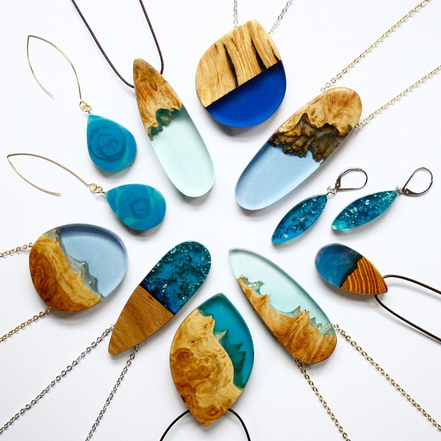 تبدیل چوب های قدیمی به جواهرات زیبا