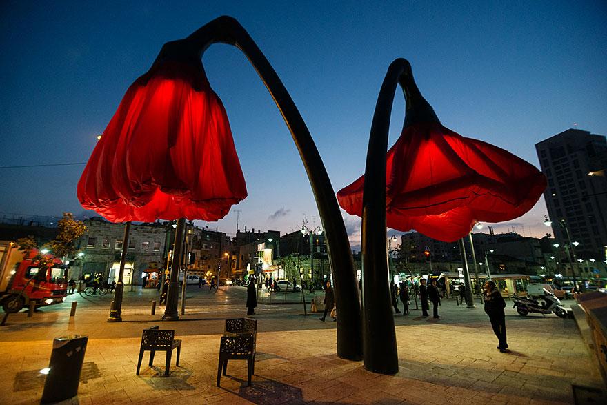 یک ایده زیبا برای بهبود فضای شهری
