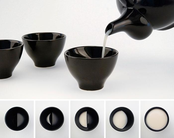طراحی خلاقانه فنجان های نوشیدنی