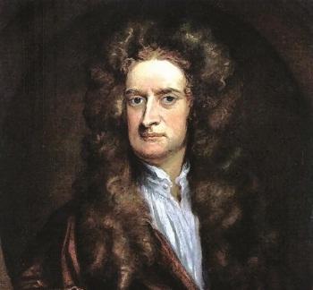نیوتن ، مردی که روی شانه ی غول ها ایستاد