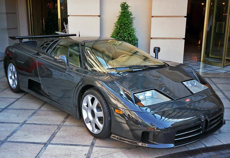 1998 Bugatti EB 110 Super Sport Dauer; top car design rating and specifications