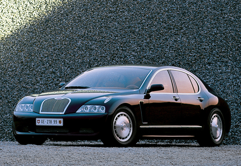 1999 Bugatti EB218 Concept; top car design rating and specifications