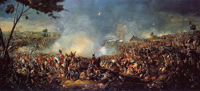 نبرد واترلو پایان ناپلئون بناپارت