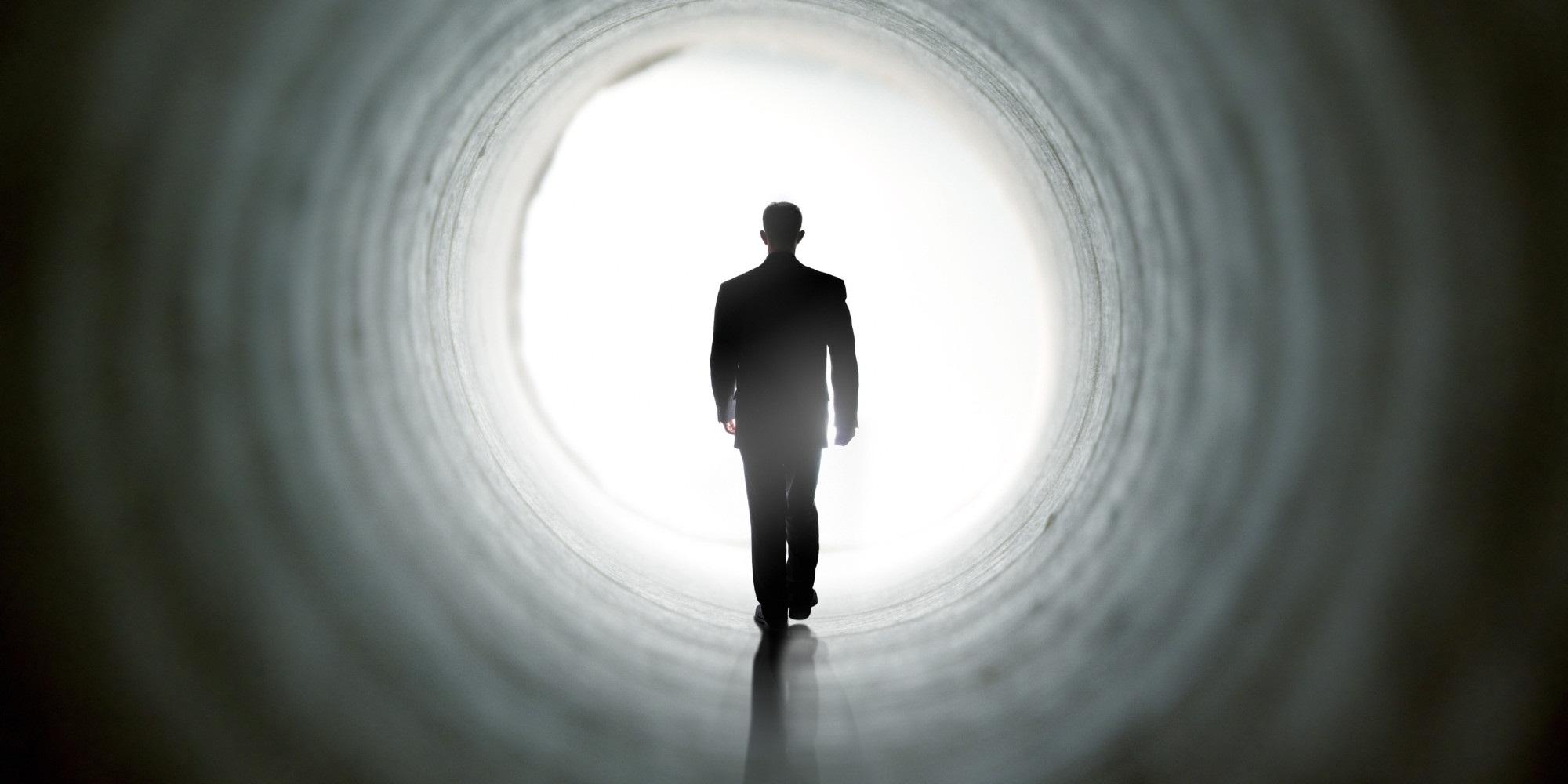 راز تونل مرگ و تجربیات نزدیک به مرگ