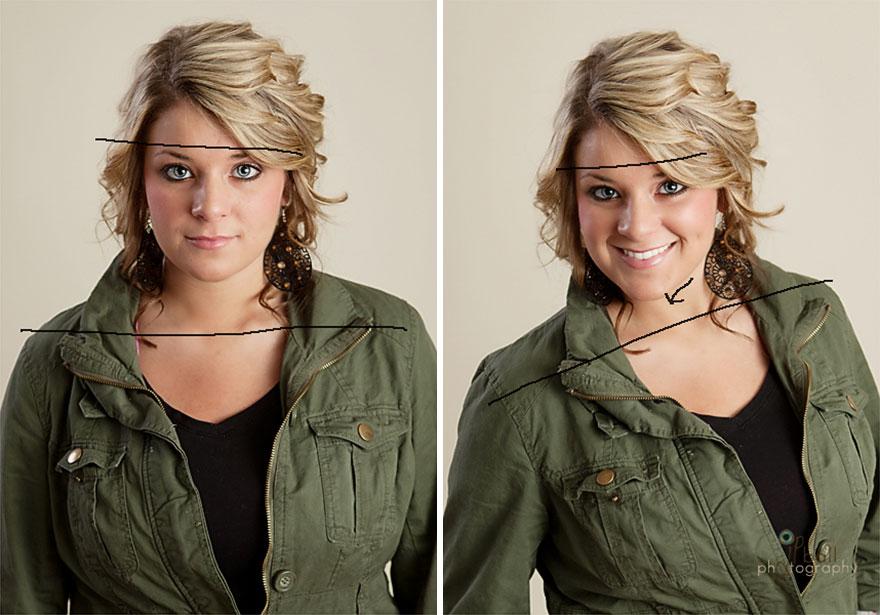 ۶ راز برای زیباتر شدن در عکس ها