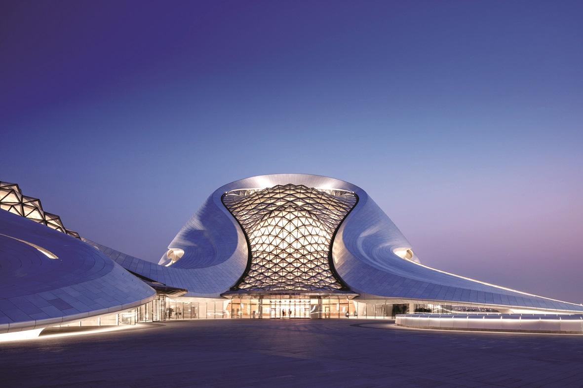 افتتاح سالن اپرای هاربین ، نامزد زیباترین اثر معماری سال