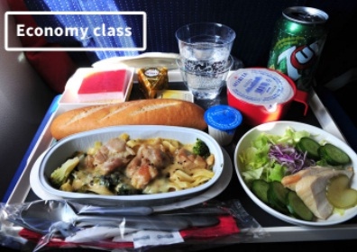 غذاهای بهترین خطوط هوایی جهان