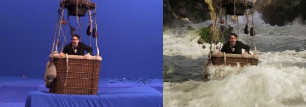 صحنه های فیلم قبل و پس از جلوه های ویژه (سری دوم)