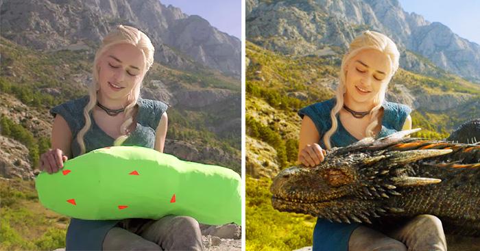 صحنه های فیلم قبل و پس از جلوه های ویژه (سری اول)