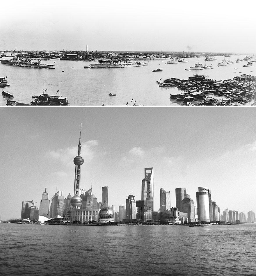 چگونه چین در طول ۱۰۰ سال تغییر کرد