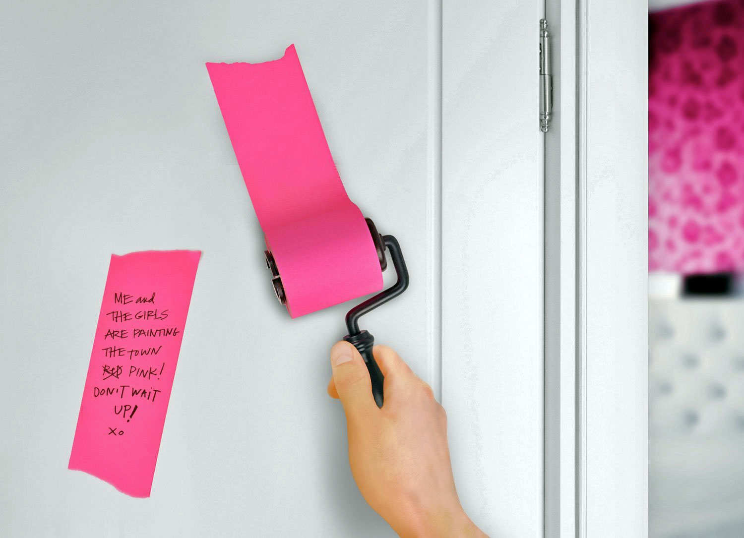 rollerstickynotes