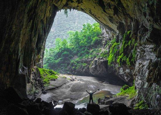 احساس آسودگی خاطر در غار