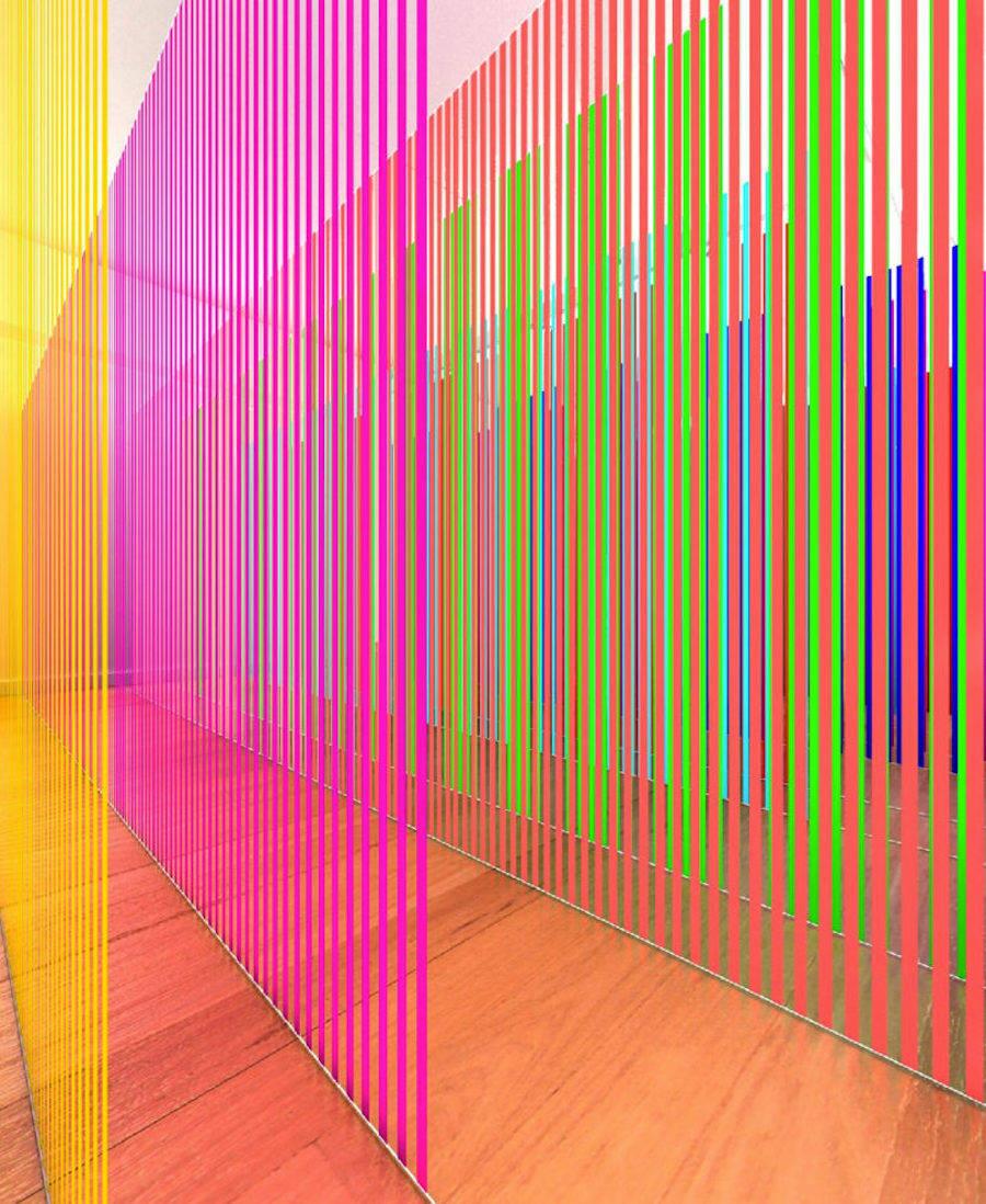 طرح های رنگی سه بعدی
