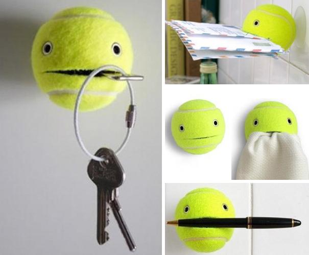 توپ تنیس می تونه نگهدارنده هر چیزی باشه!