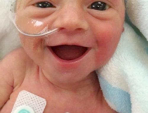 خنده نوزادی که زندگی را خجالت زده کرد