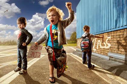 اعتراض کودکان
